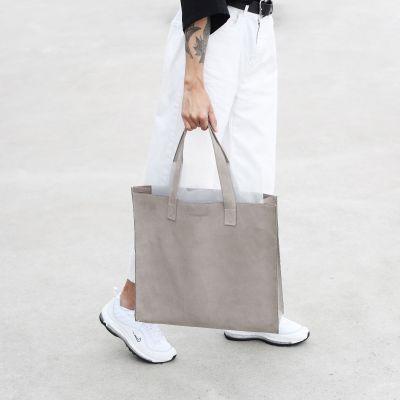The Minimal | Big leather shopper