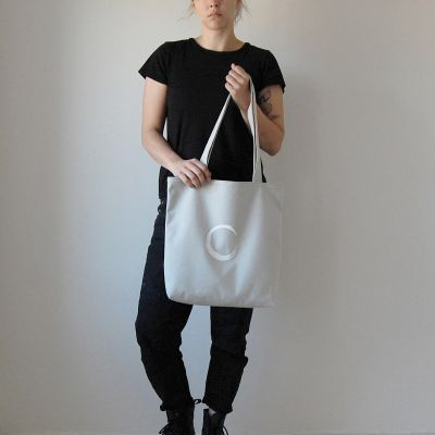 The Circle Tote | light grey