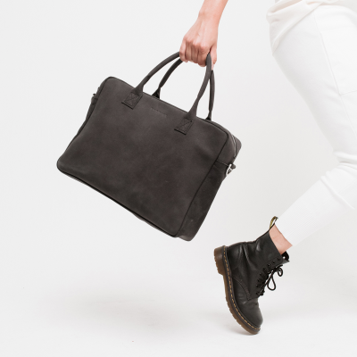 The Urban | Leather laptop bag